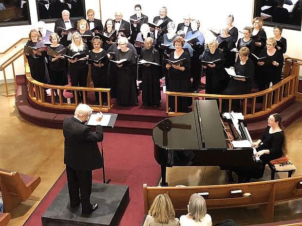 Carson Chamber Singers perform in concert on Nov. 2. Rehearsals have begun for the Dec. 9 Holiday Treat Concert.