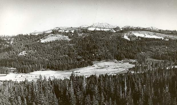 A look at Boreal before adding ski lifts and opening for business.