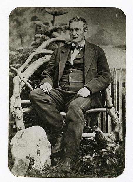 Abraham Curry, a founding father of Carson City, was the first superintendent of the U.S. Branch Mint.