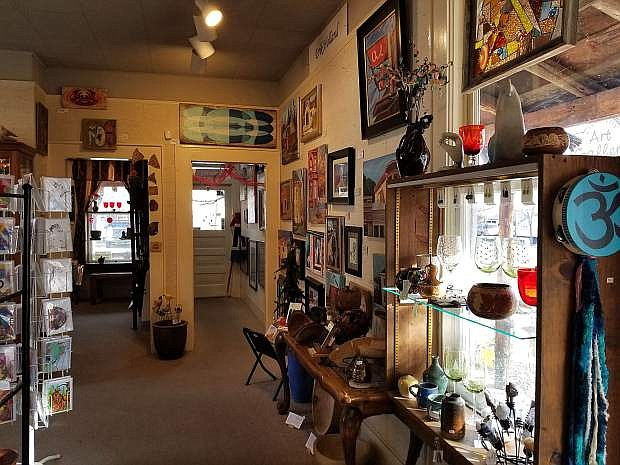Carson City Art Gallery and Pottery is closing its doors after Christmas. Until then, much of the work in the store, done by 50 local artists, is on sale for 10-50 percent off.