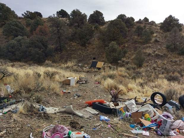 Illegal dumping continues to be a problem in Carson City.