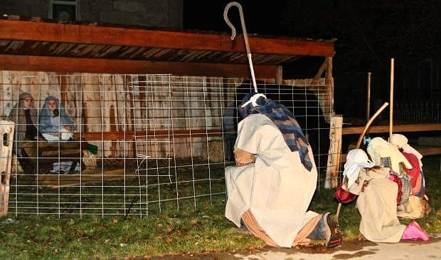 First United Methodist Church will again present its Living Nativity.