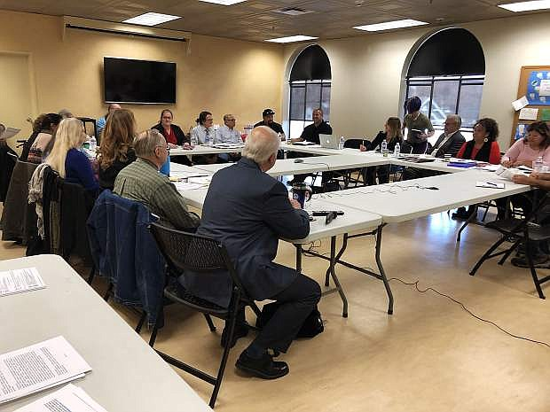 About 25 local tribal and business representatives gathered Thursday at the Nevada State Museum in Carson City and videoconferenced with five others at the Las Vegas museum to discuss draft regulations to chapter 381 of the Nevada Administrative Code.