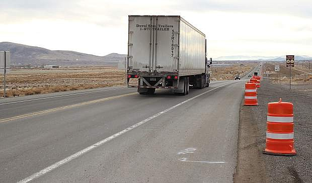 Nevada Department of Transportation is beginning a project this week to widen U.S. 50 from Silver Springs to Stagecoach.