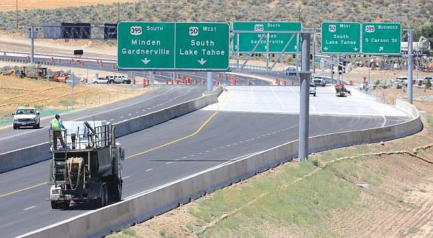 After years of construction, the 580 bypass is nearing completion.