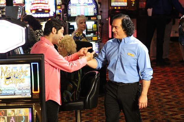 Kabir Singh and Joby Saad return to film Casino Boss, episode 3, at the Carson Nugget next weekend. Casting Call for local extras is Thursday, April 11, at 2 p.m. at Alatte, inside the Carson Nugget.