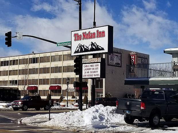 The Back on Track Inn is now the Nolan Inn.