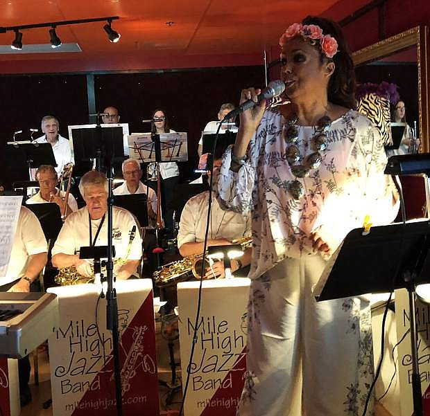 Jakki Ford will perform with Mile High Jazz Band at Living the Good Life on Oct. 9.
