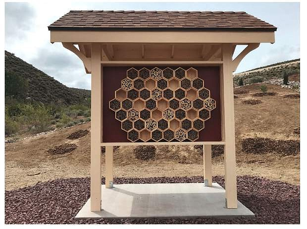A ribbon cutting for the Bee Habitat will be held on June 7.