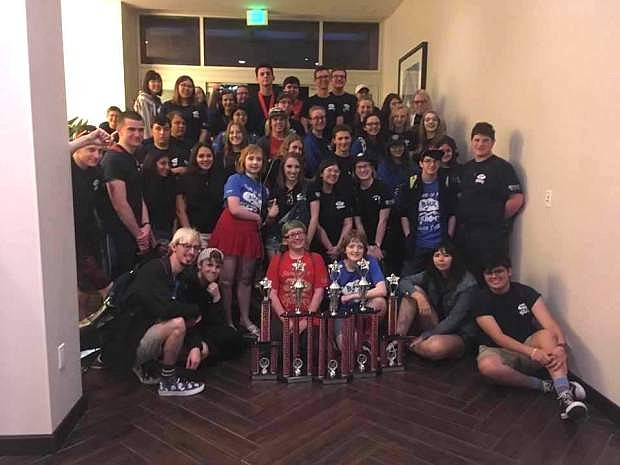 Carson High musicians won top awards at a prestigious event in Southern California.
