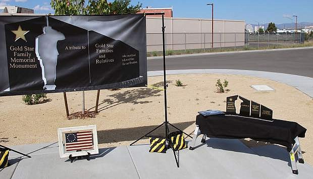 A Gold Star Families Memorial will be unveiled on June 29 at the Northern Nevada State Veterans Home.
