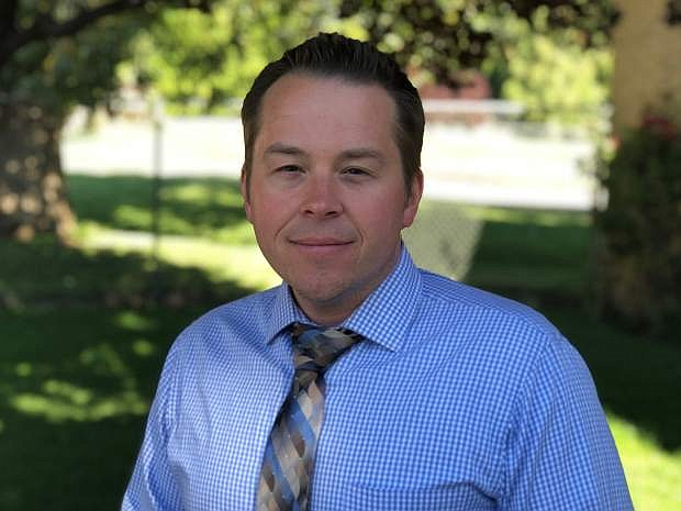 Carson City School District director of fiscal services Andrew Feuling