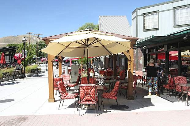 A judge has ruled the gazebo at Mom & Pop's Diner must be removed.