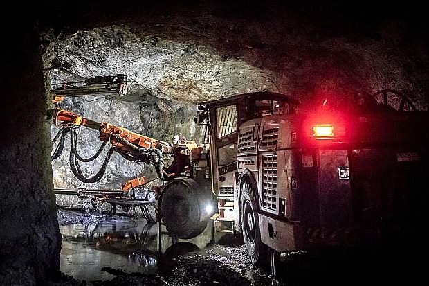 Underground mining continues at Nevada Gold Mines' Cortez Mine.