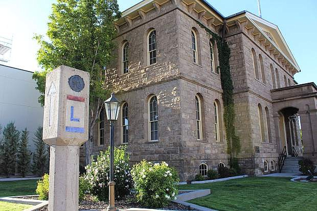 A marker denoting that the Lincoln Highway once came through Carson City can be found in front of the Nevada State Museum. Other signs can be seen along Kings Canyon.
