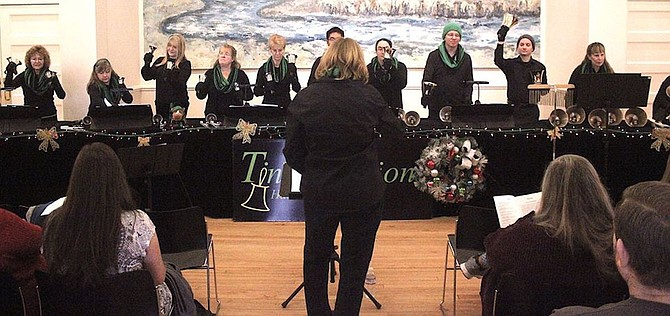 The Tintabulation Handbell Ensemble stops at the Churchill County Museum on Sunday for its annual visit to Fallon.