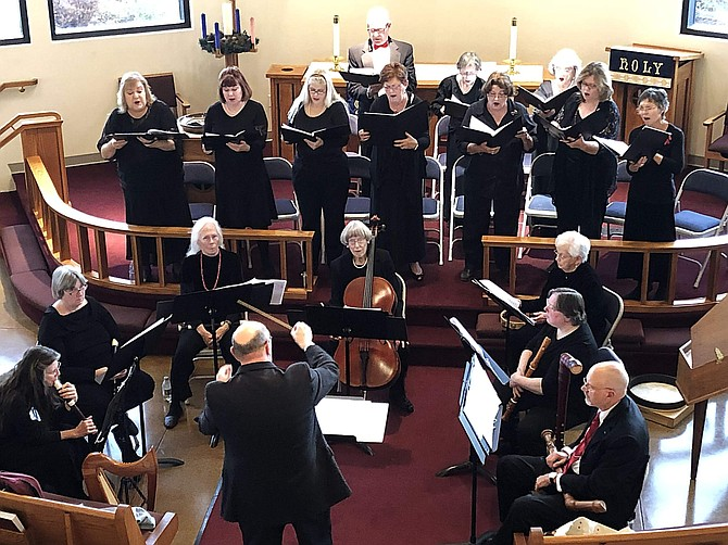Consort Canzona in Concert last year.