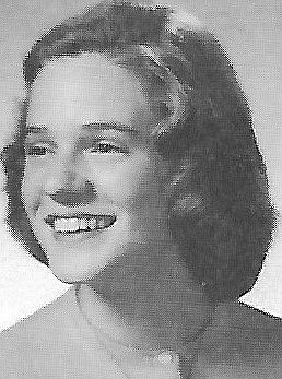 """This is """"Mary's"""" picture from our 1958 yearbook, """"The Bulldog."""""""