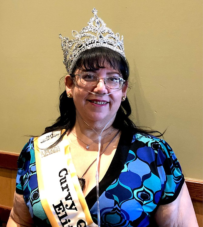 Cecilia Merrell Carson City was crowned the 2019 Silver State Curvy Queen Elite in November and now will spend the next year seeking support for her platforms, including helping the hungry and homeless.