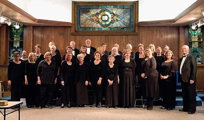 Carson Chamber Singers in concert November.