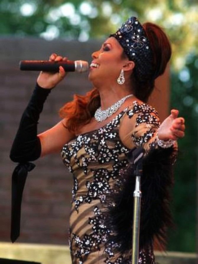 Vocalist Jakki Ford will be featured with Mile High Jazz Band on February 11 at Living the Good Life.