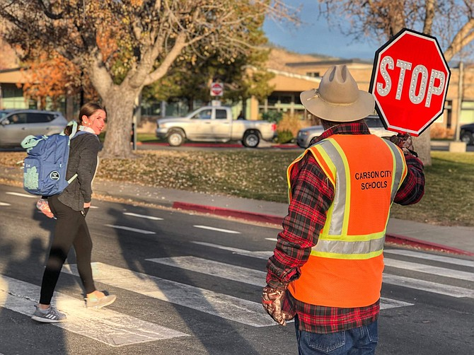 The Carson City School District and Board of Trustees are pleading for drivers in the Carson City area to take extra caution in school zones and around bus stops.