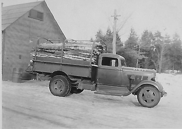 This truck is similar to the trucks used in Nevada to transport CCC recruits and haul materials to and from the job site.