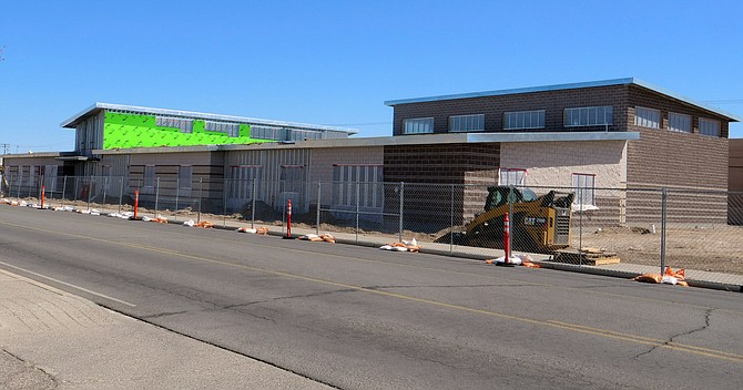 Construction for the Navy Operational Support Center is expected to be completed later this year.