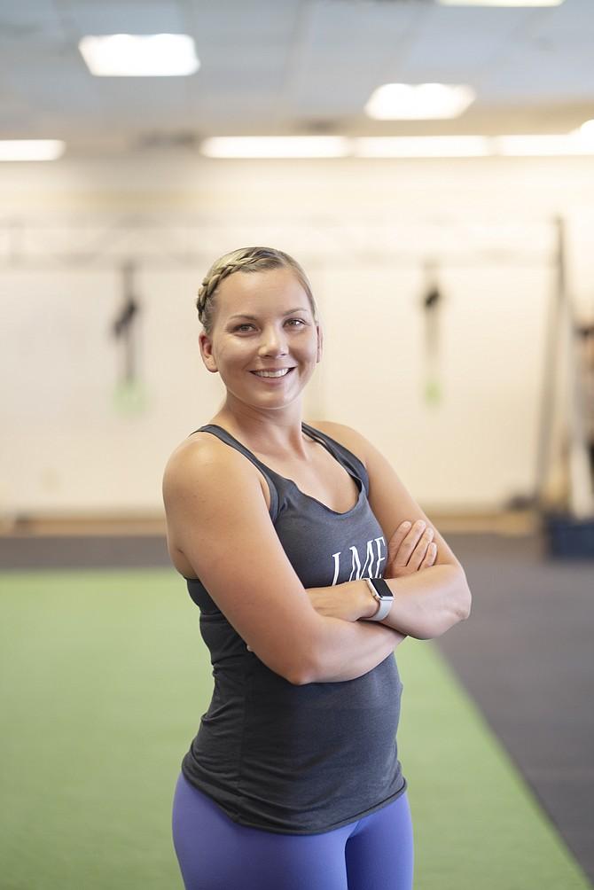 Loved Momma Fitness trainer/owner Breanna Naccarato.