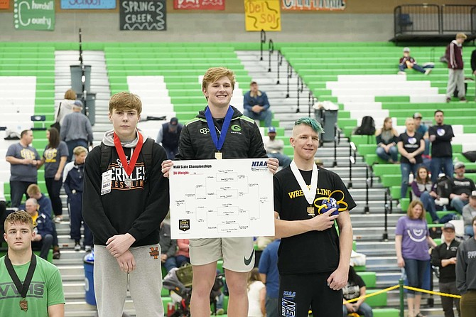 Fallon senior Tommy McCormick, who won his third state title this year, was named the Nevada state winner of the Dave Schultz High School Excellence Award and is eligible for the regional and national awards, which will be announced this month.