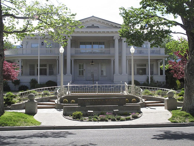 The Governor's Mansion in Carson City is pictured May 26.