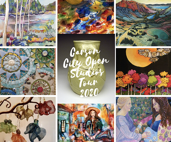 The 2020 Jazz & Beyond Music and Art Festival this August will include the second annual Carson City Open Studios Tour at multiple studios throughout Carson City.