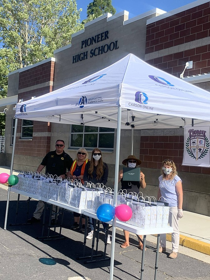 Pioneer High School celebrated its graduation on June 2. Carson City School District