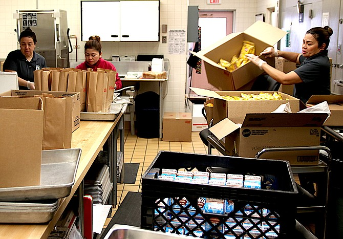 Churchill County School District has implemented changes with food services for the year.