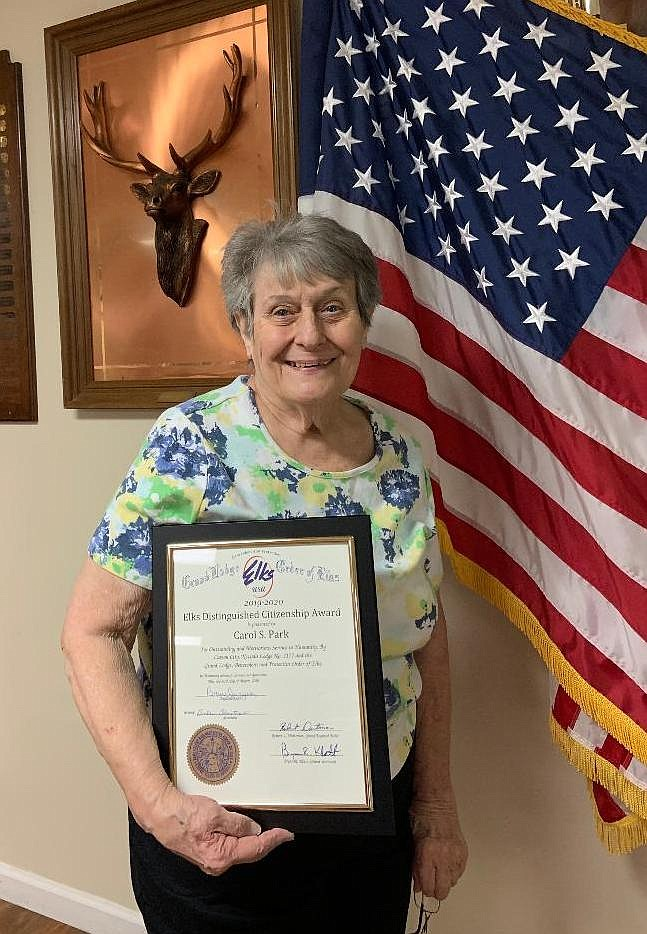 Carol Park was named Citizen of the Year