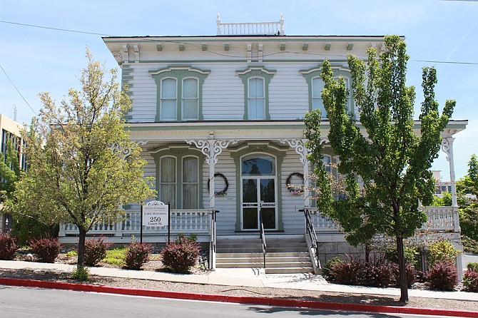 After moving multiple times, the historic Lake Mansion now sits at 250 Court St., in downtown Reno.