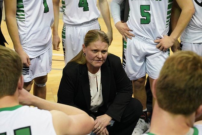 Fallon boys basketball coach Chelle Dalager, who led the Greenwave to two state titles, was named one of 40 finalists for the Most Influential Women of the Sierra Nevada.