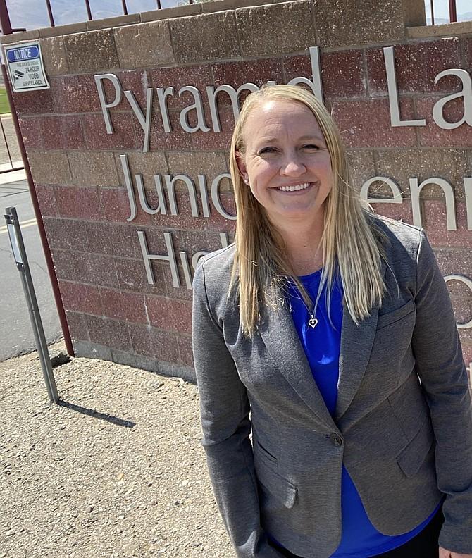 Fallon graduate Mandie Lister is the new principal at Pyramid Lake Junior/Senior High School.