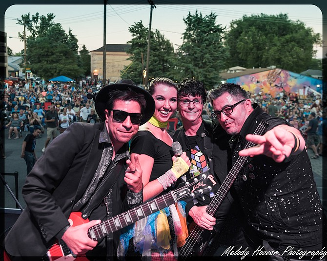 New Wave Crave performs Saturday in Carson City.