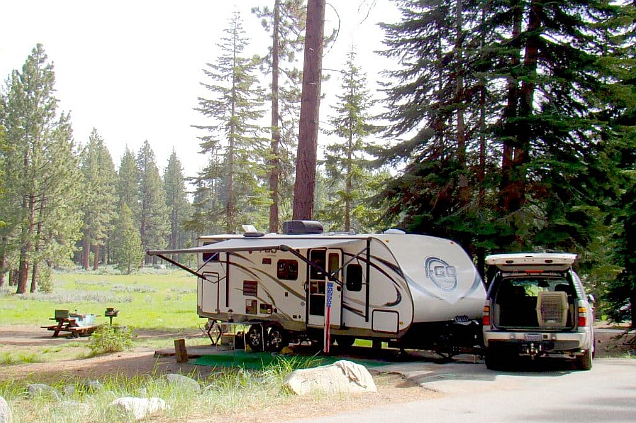 Campgrounds, day use areas and boat ramps have been closed in the Lake Tahoe Basin through Sept. 14.