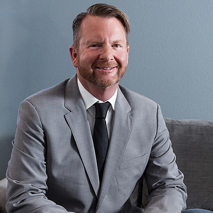 Tim Haughinberry, president of the Gay and Lesbian Chamber of Commerce of Nevada.