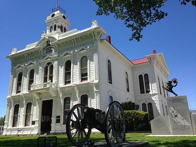 The historic Mono County Courthouse, built in 1880-81, is the second oldest operational courthouse in California.