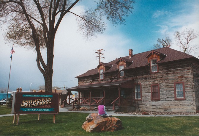 Historic Sherman Station Visitors Center, which serves as the home of the Elko Chamber of Commerce.