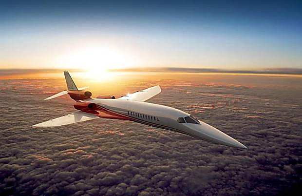 Certification of the Aerion AS2 Mach 1.6 supersonic business jet is planned for 2021. (PRNewsFoto/Aerion Corporation)