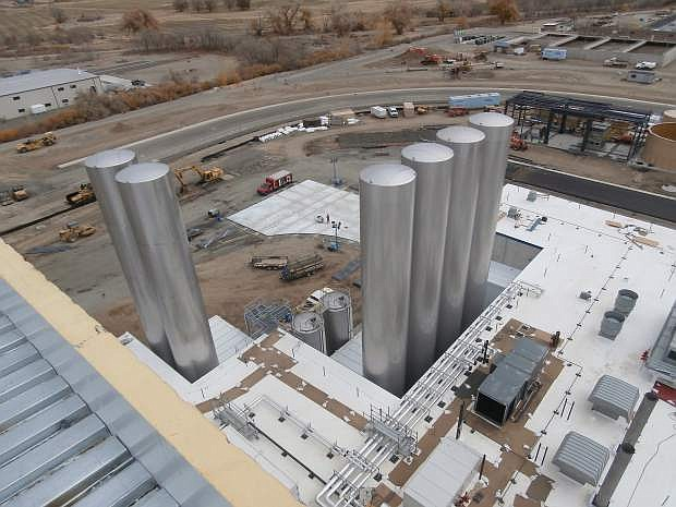 The Dairy Farmers of America's milk processing plant in Fallon is slated to begin operating in the second quarter.