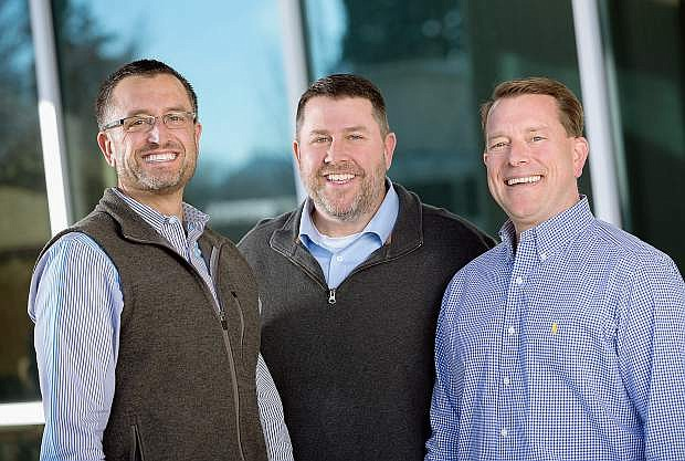 ITS Logistics was founded in 1999 by long-time friends and northern Nevada natives COO Darryl Bader (left), CEO Jeff Lynch and CFO Dan Allen.