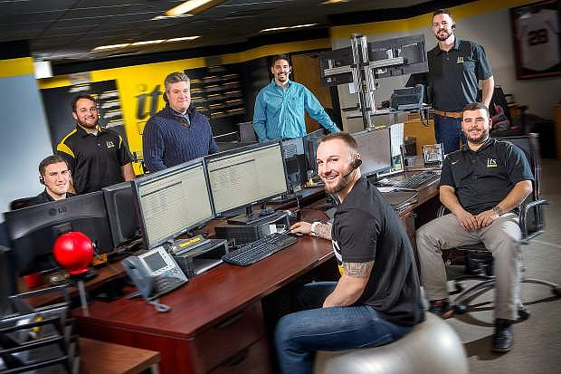 ITS Logistics' freight brokerage division is the company's fastest growing operating unit. The division has grown from 25 employees to 45 employees within the past year.