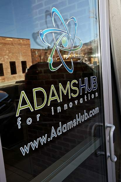 The Adams Hub for Innovation is located at 111 West Proctor St.