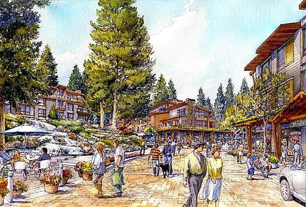 Since the onset, the Boulder Bay project has promoted a new Tahoe Biltmore property that embraces walking and health and wellness.