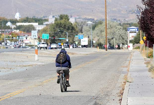 Carson City acquired the frontage road to the former Nevada National Guard Armory for part of a multi-use path being added when South Carson Street is redesigned.